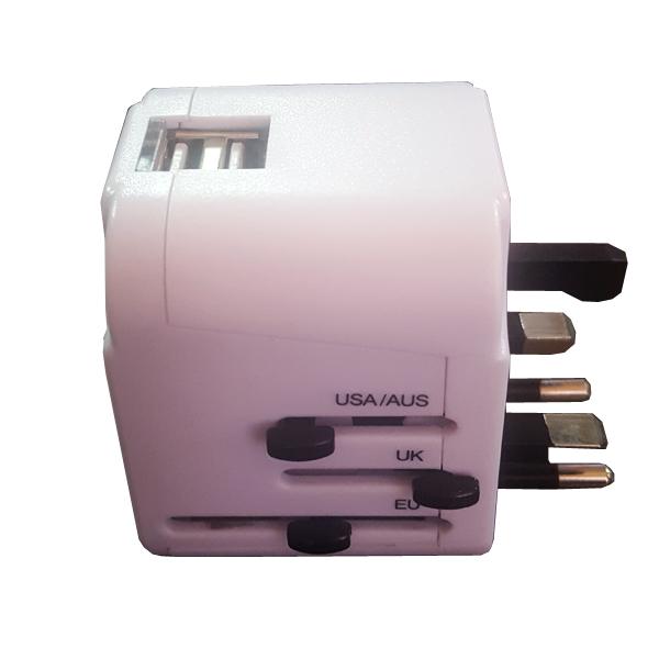 Universal USB Travel Adaptor