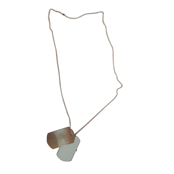 USB Dogtag Necklace 8GB